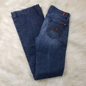 7 for All Mankind Flare Leg Jean's Size 25